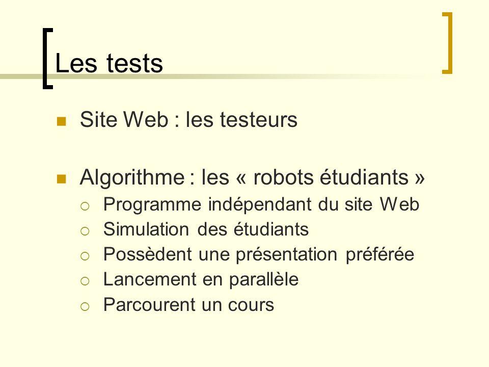 Les tests Site Web : les testeurs