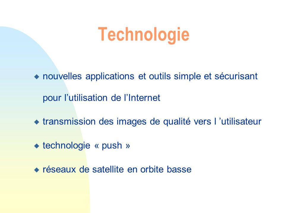 Technologie nouvelles applications et outils simple et sécurisant pour l'utilisation de l'Internet.