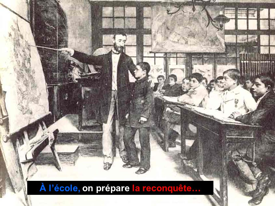 À l'école, on prépare la reconquête…