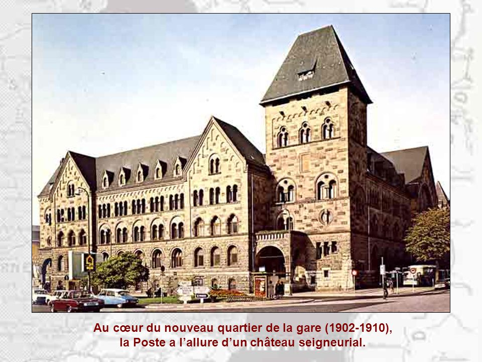 La germanisation de Metz est spectaculaire…