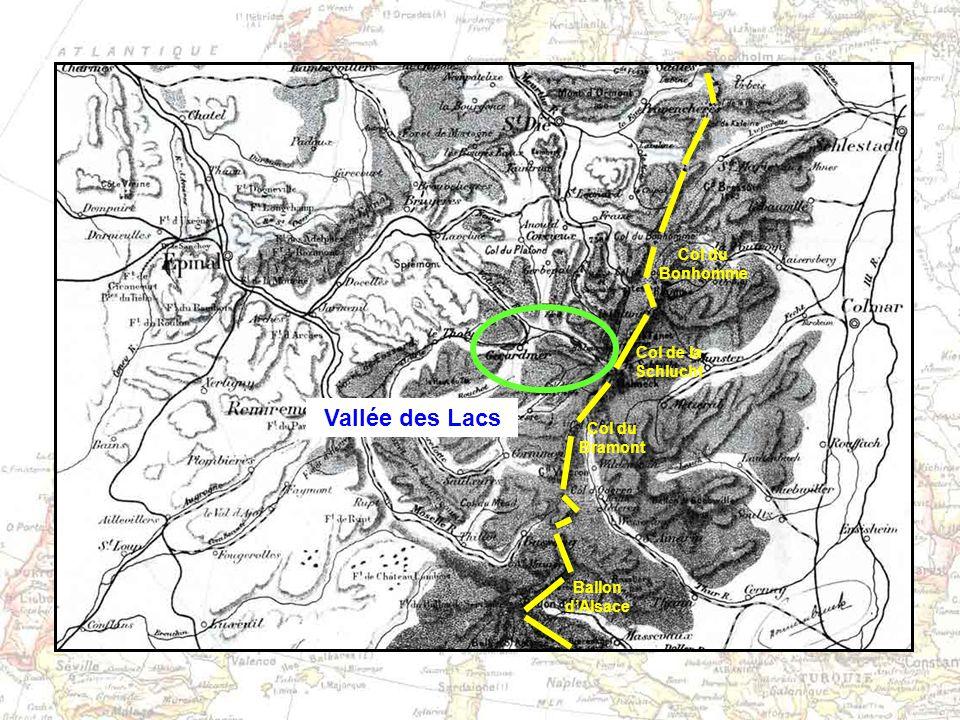 Vallée des Lacs Col du Bonhomme Col de la Schlucht Col du Bramont