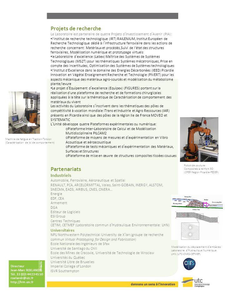 Projets de recherche Partenariats Industriels Universitaires