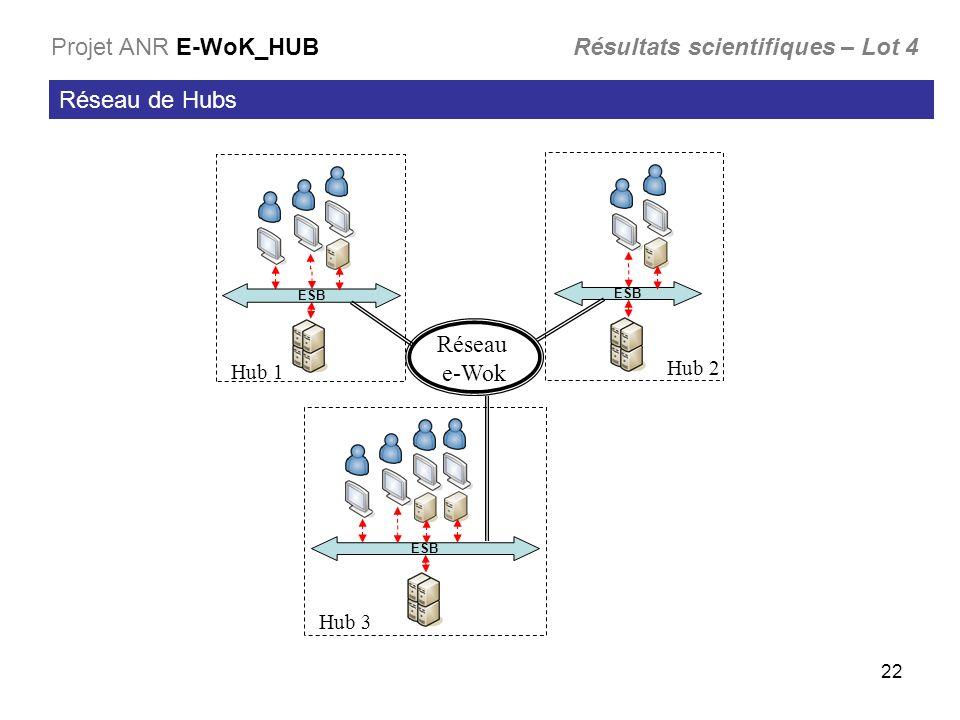 Projet ANR E-WoK_HUB Résultats scientifiques – Lot 4