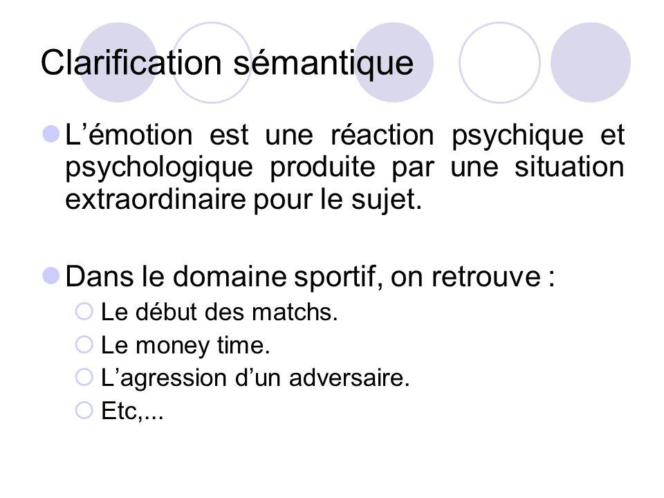Clarification sémantique