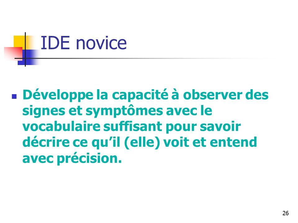 IDE novice