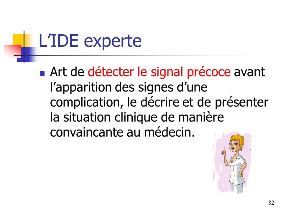 L'IDE experte