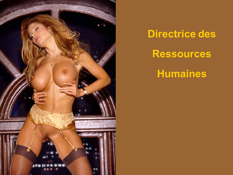 Directrice des Ressources Humaines