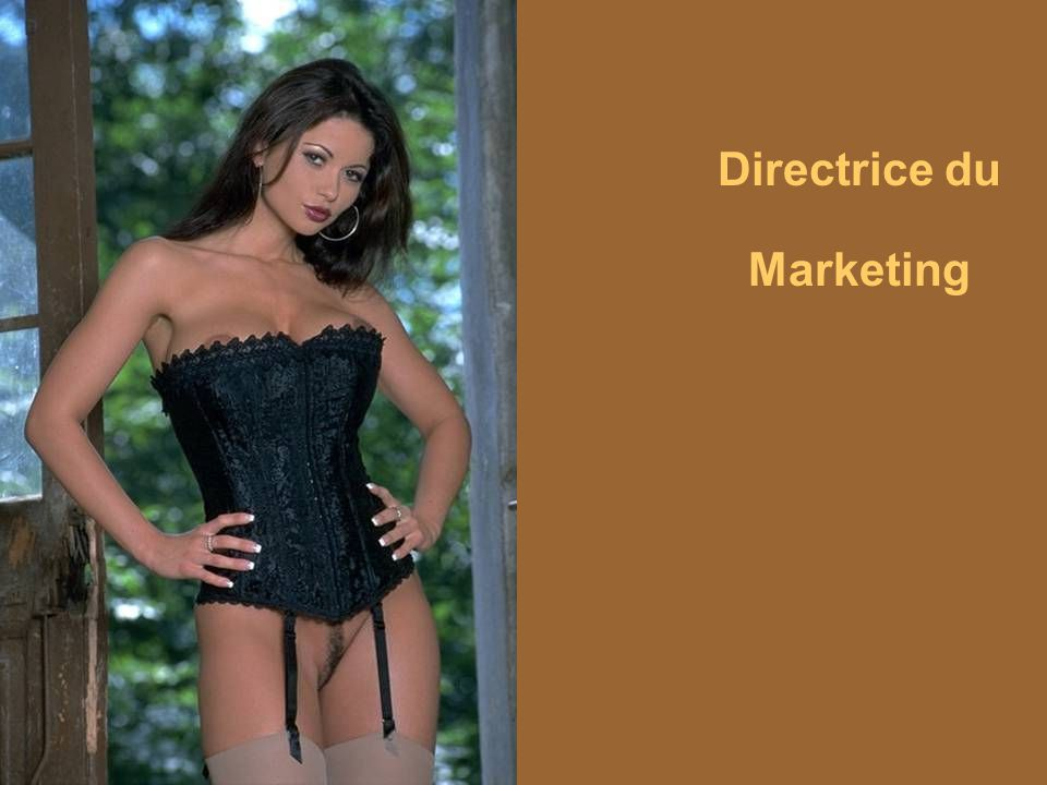 Directrice du Marketing