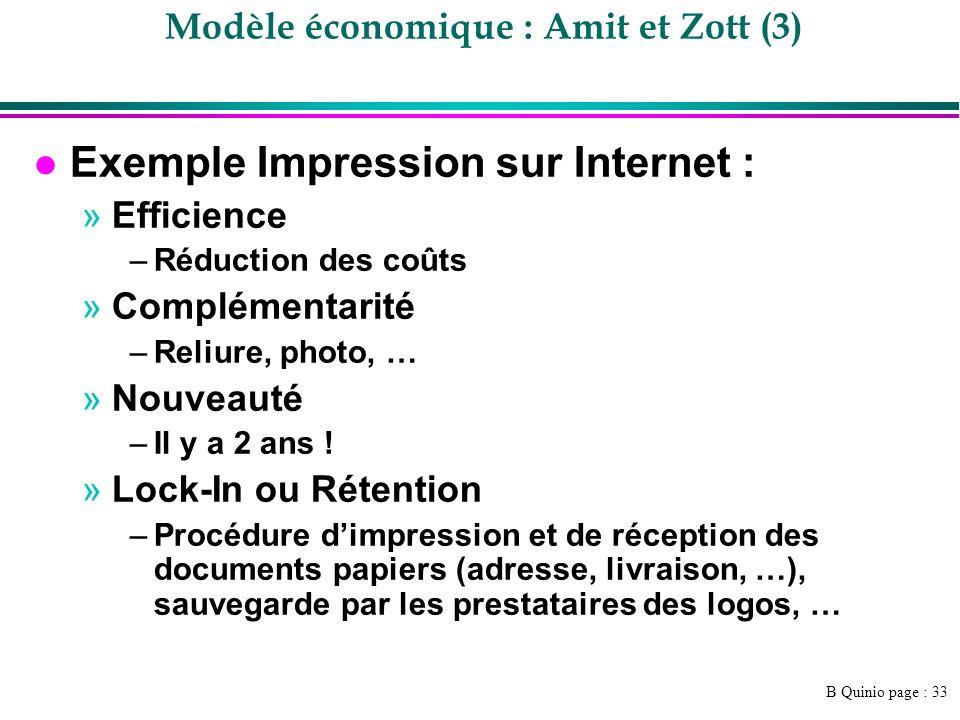 Modèle économique : Amit et Zott (3)
