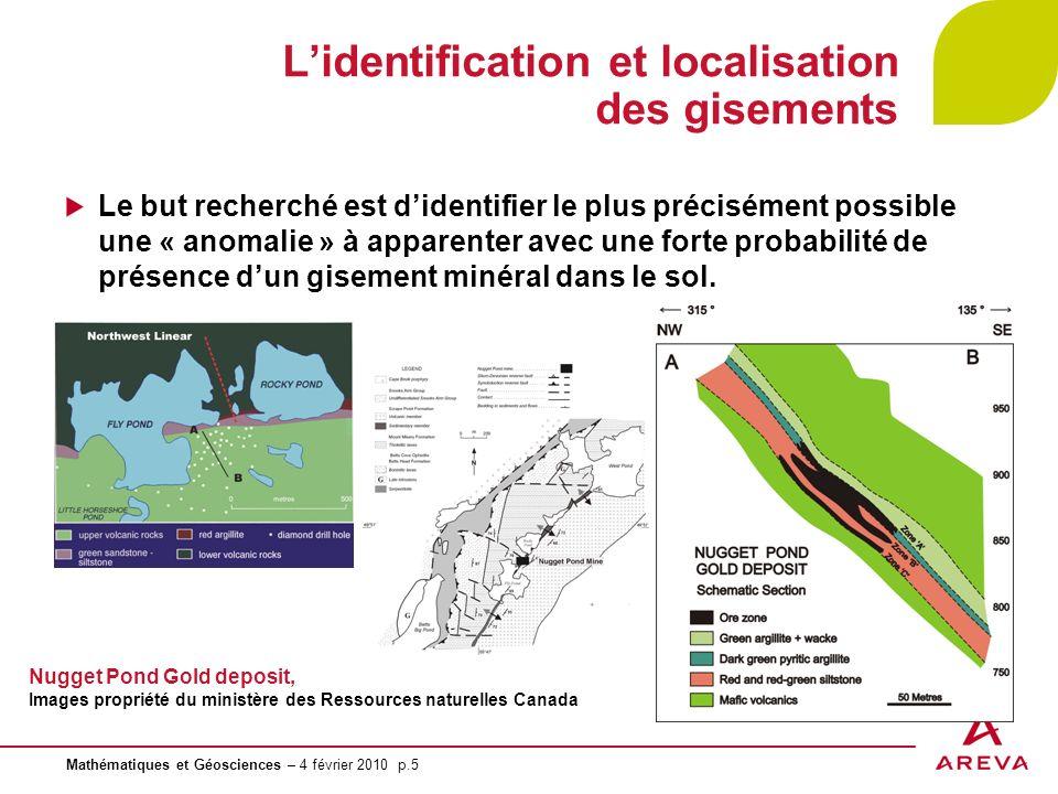 L'identification et localisation des gisements