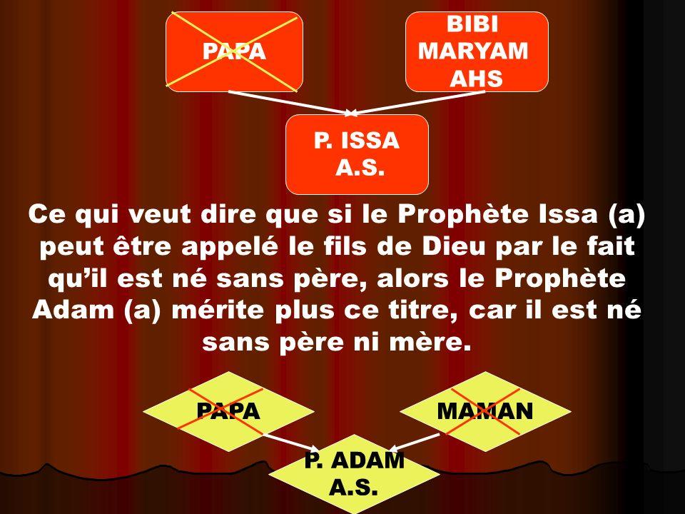 PAPA BIBI. MARYAM. AHS. P. ISSA. A.S.