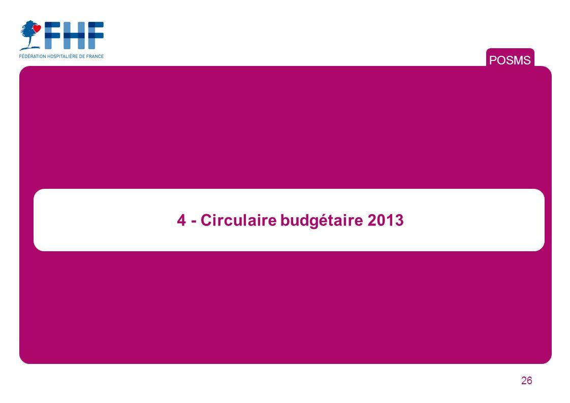 4 - Circulaire budgétaire 2013