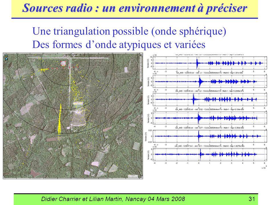 Sources radio : un environnement à préciser