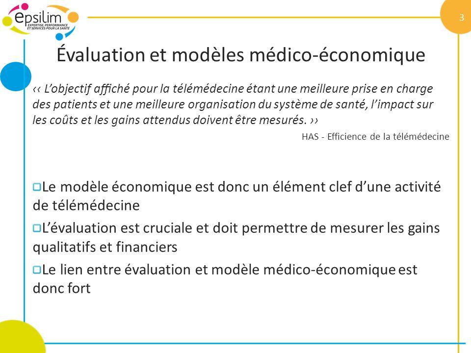 Évaluation et modèles médico-économique