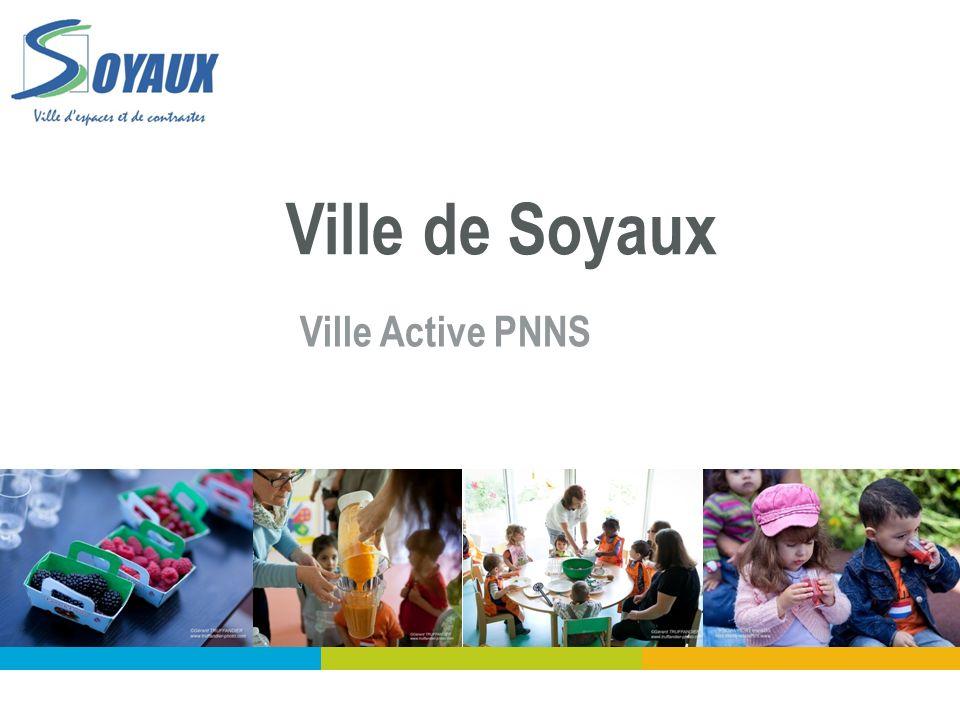 Villes actives PNNS de la Charente Ville de Soyaux Ville Active PNNS