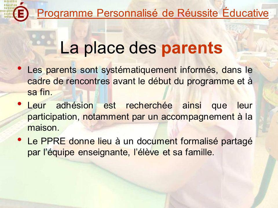 Rencontre reussite educative