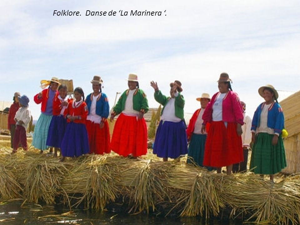 Folklore. Danse de 'La Marinera '.