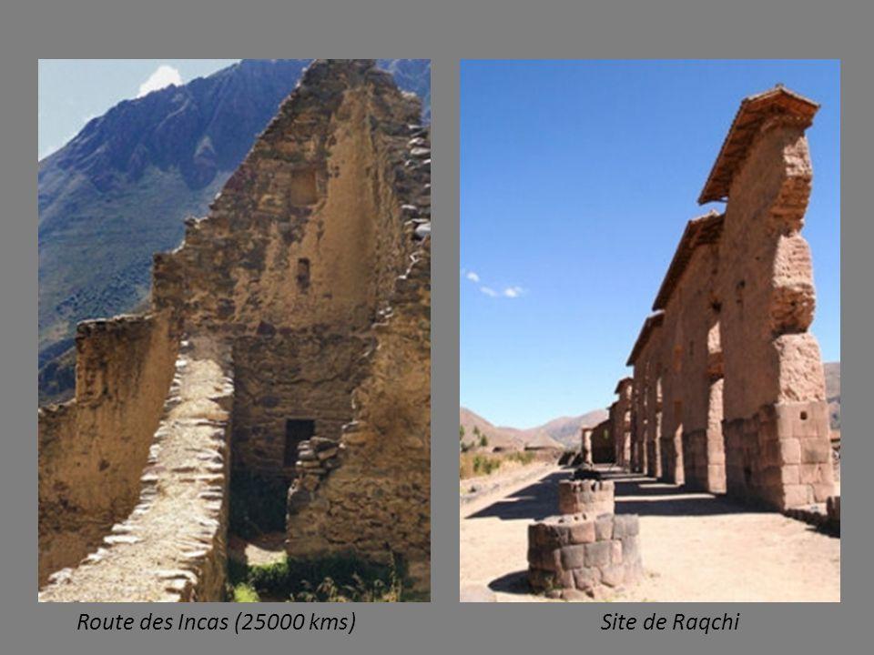 Route des Incas (25000 kms) Site de Raqchi