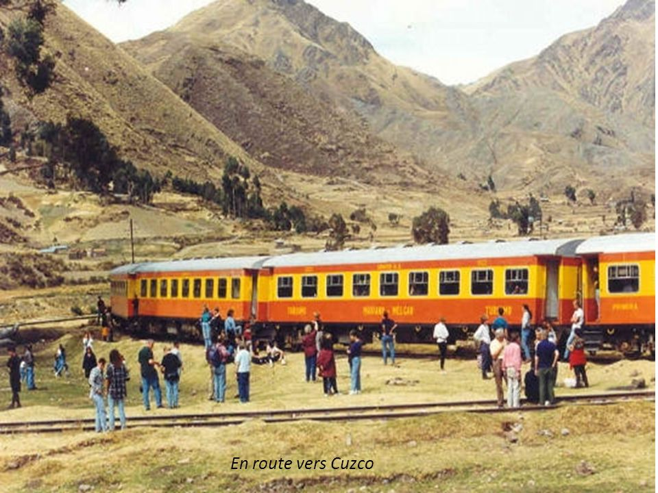 En route vers Cuzco