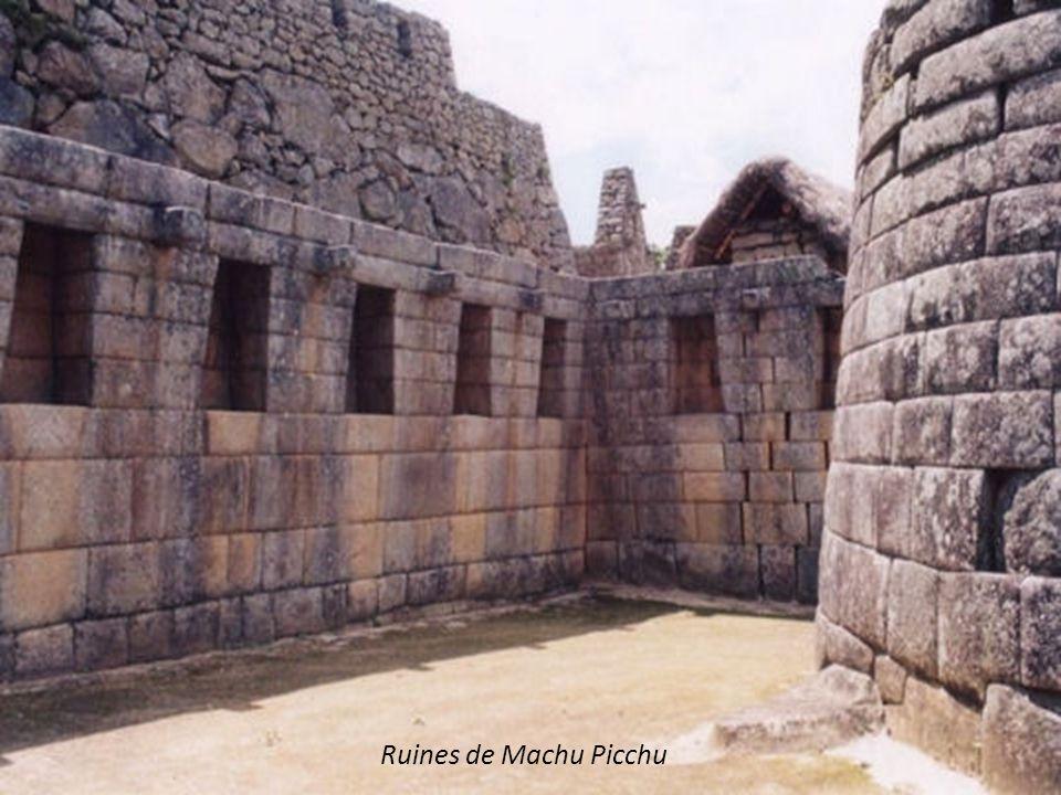 Ruines de Machu Picchu