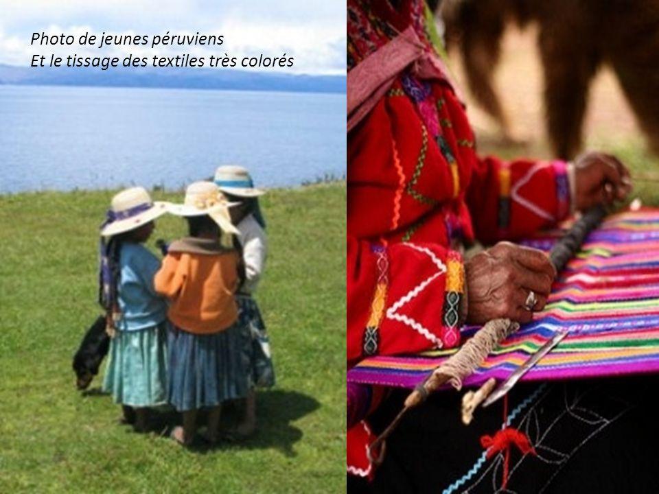 Photo de jeunes péruviens