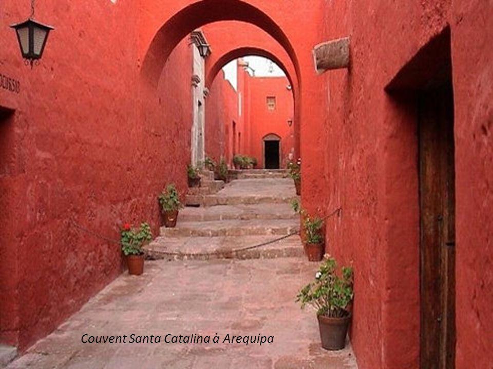 Couvent Santa Catalina à Arequipa