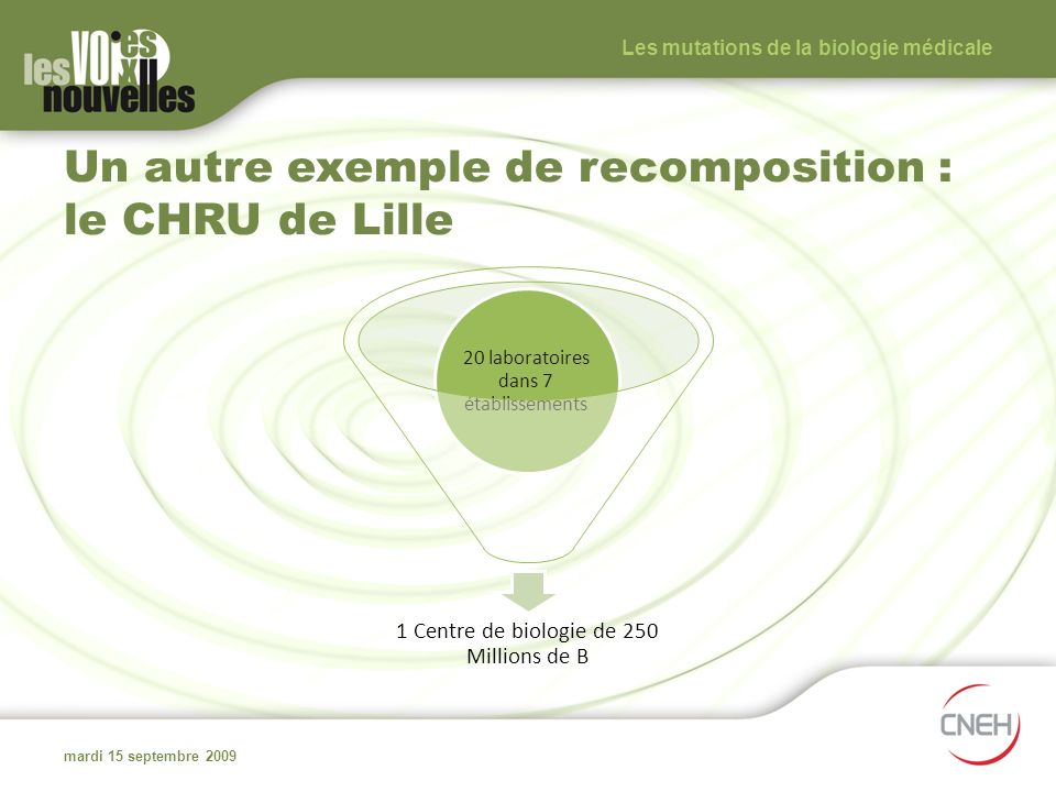 Un autre exemple de recomposition : le CHRU de Lille