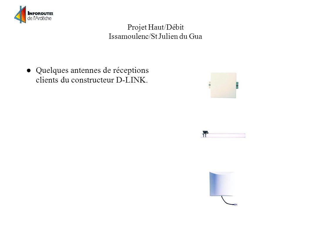 Projet Haut/Débit Issamoulenc/St Julien du Gua