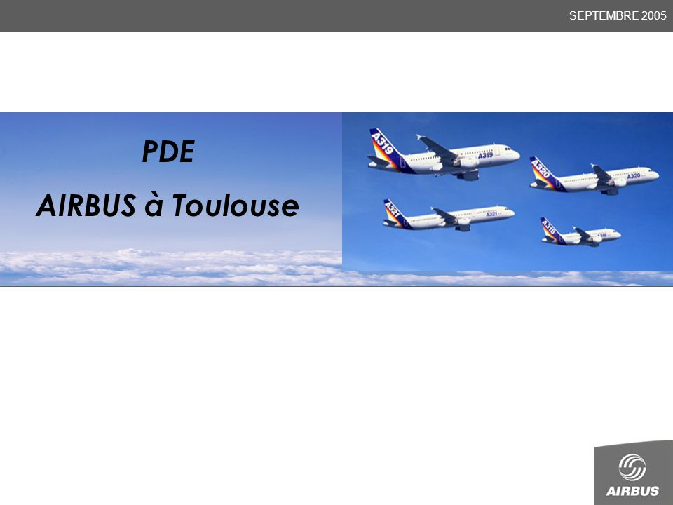Presenté par JEAN MARC THOMAS (Nom) (Fonction) PDE AIRBUS à Toulouse