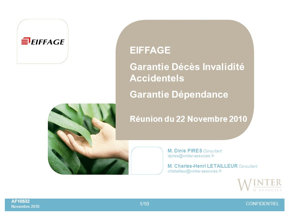 Garantie Décès Invalidité Accidentels Garantie Dépendance