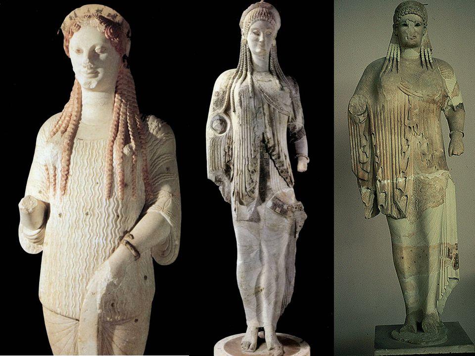 Kore 670-520bc, Acropole d Athenes, Kore 682-520-510 ,Acropole d Athenes, Marbre, kore antenor_kore