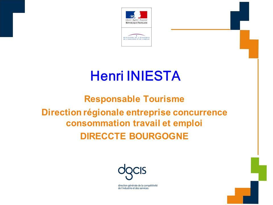 Henri INIESTA Responsable Tourisme