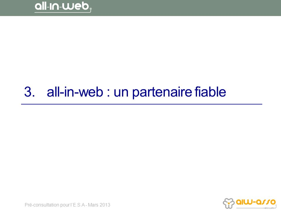 all-in-web : un partenaire fiable
