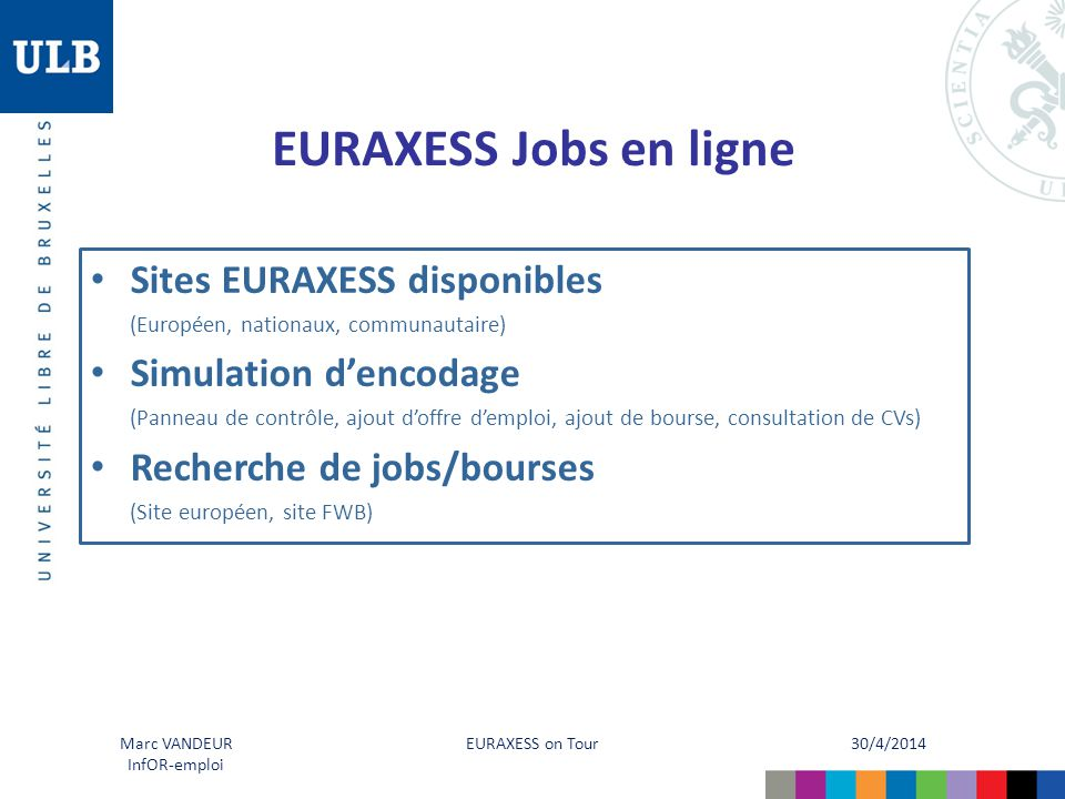 EURAXESS Jobs en ligne Sites EURAXESS disponibles