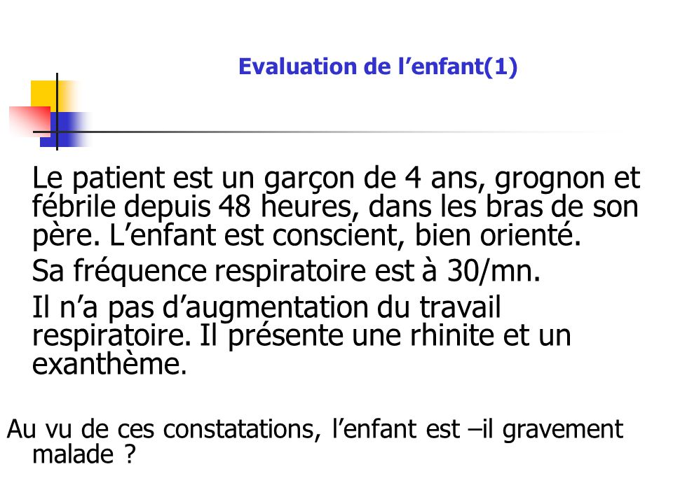 Evaluation de l'enfant(1)