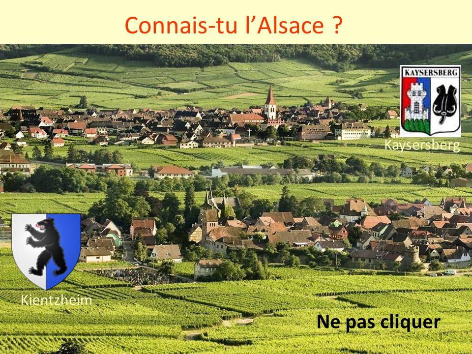 Connais-tu l'Alsace Kaysersberg Kientzheim Ne pas cliquer
