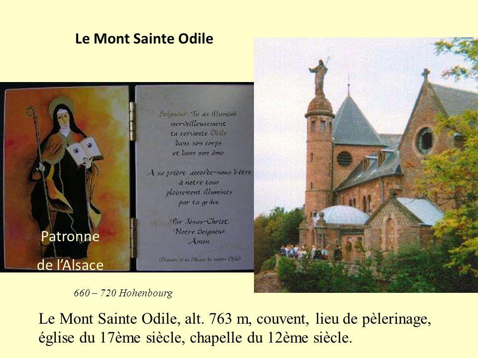 Le Mont Sainte Odile Patronne de l'Alsace