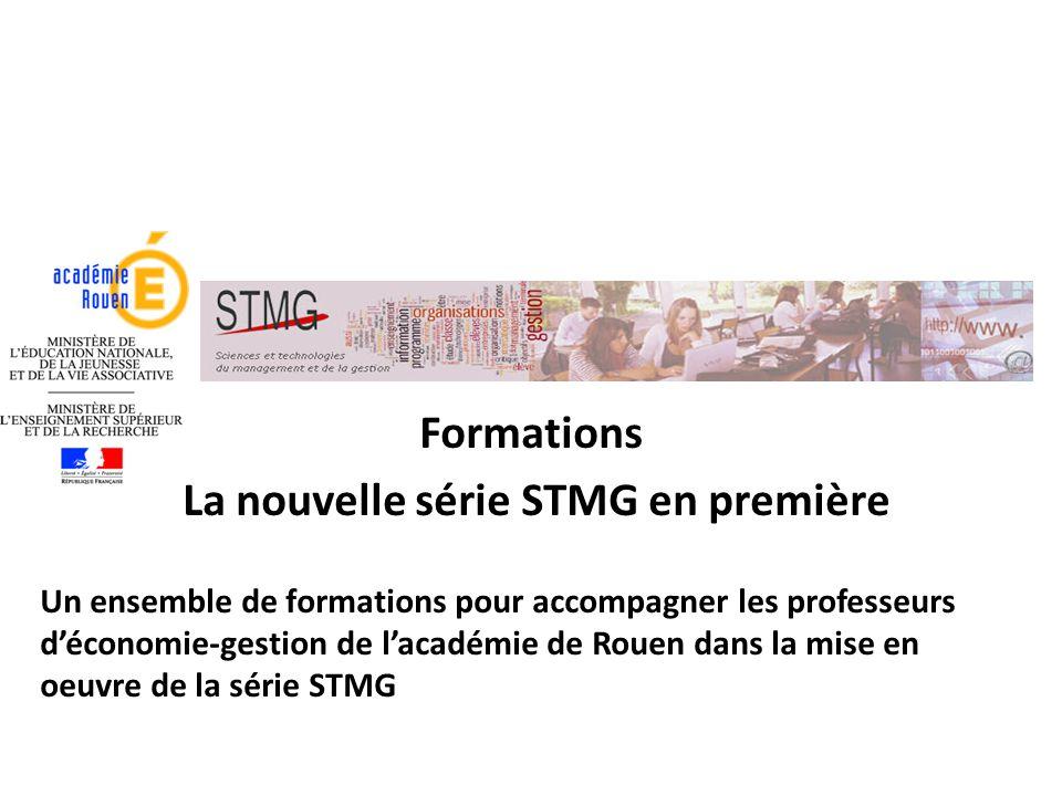 La nouvelle série STMG en première