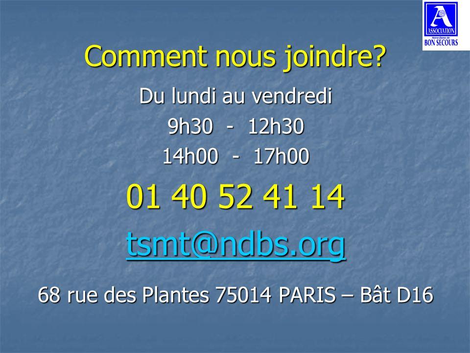 68 rue des Plantes 75014 PARIS – Bât D16