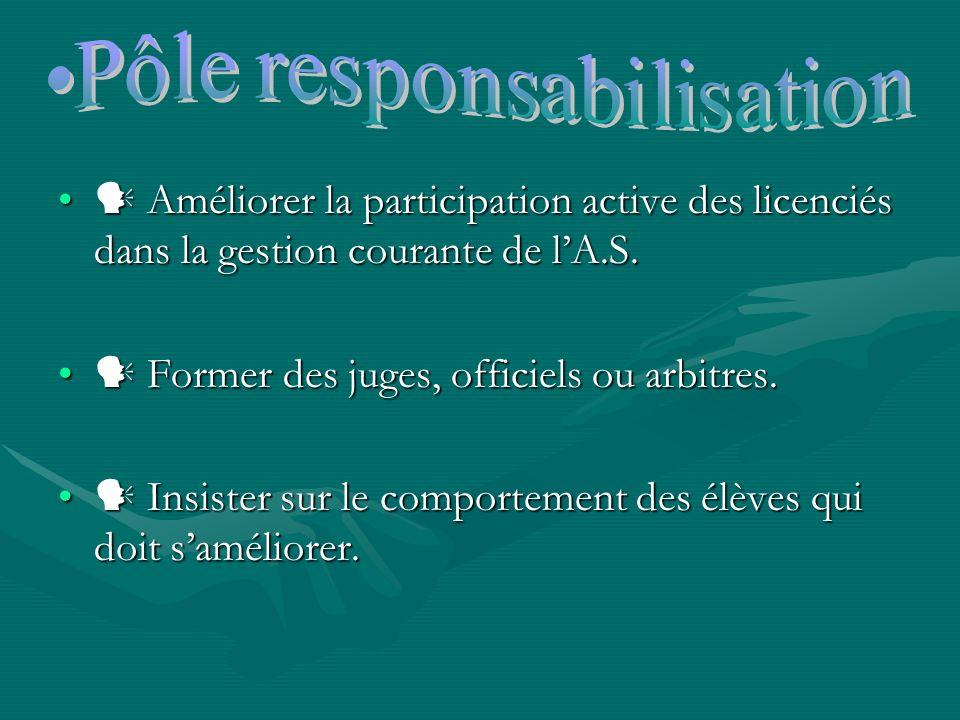 Pôle responsabilisation