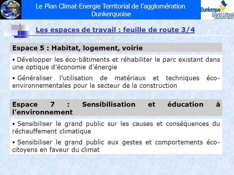 Le Plan Climat-Energie Territorial de l'agglomération