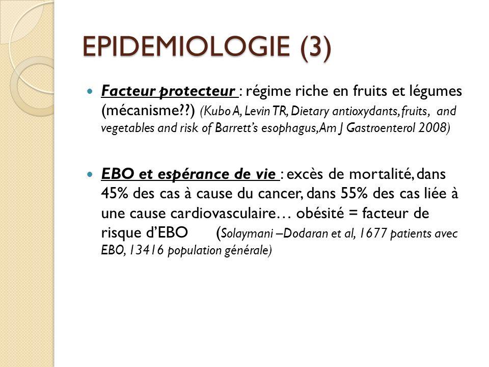 EPIDEMIOLOGIE (3)