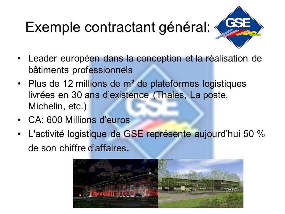 Exemple contractant général: