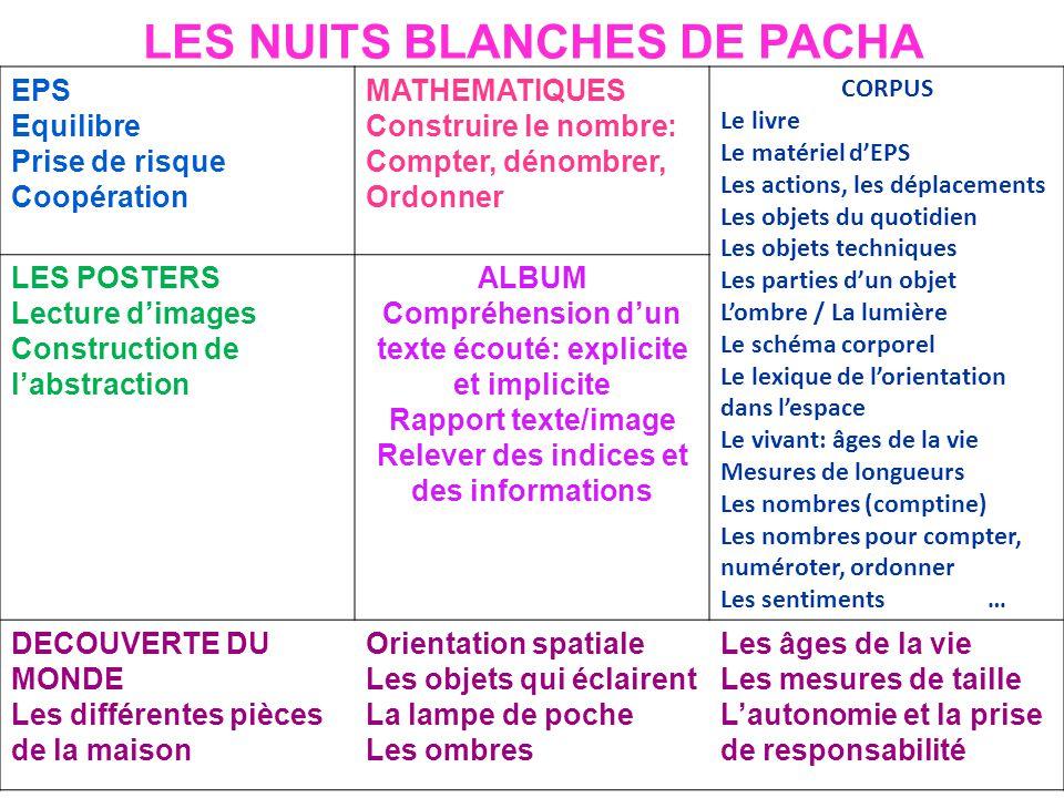 LES NUITS BLANCHES DE PACHA