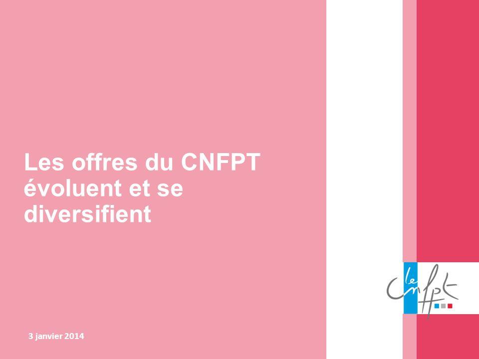 Les offres du CNFPT évoluent et se diversifient