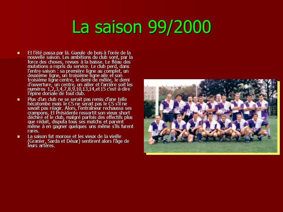 La saison 99/2000