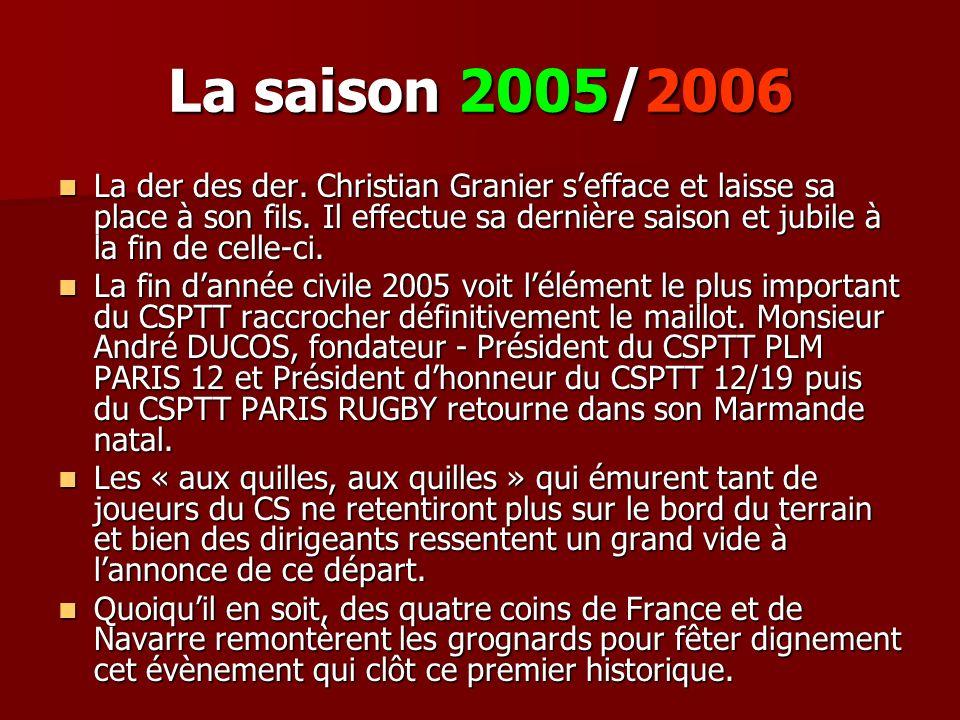 La saison 2005/2006