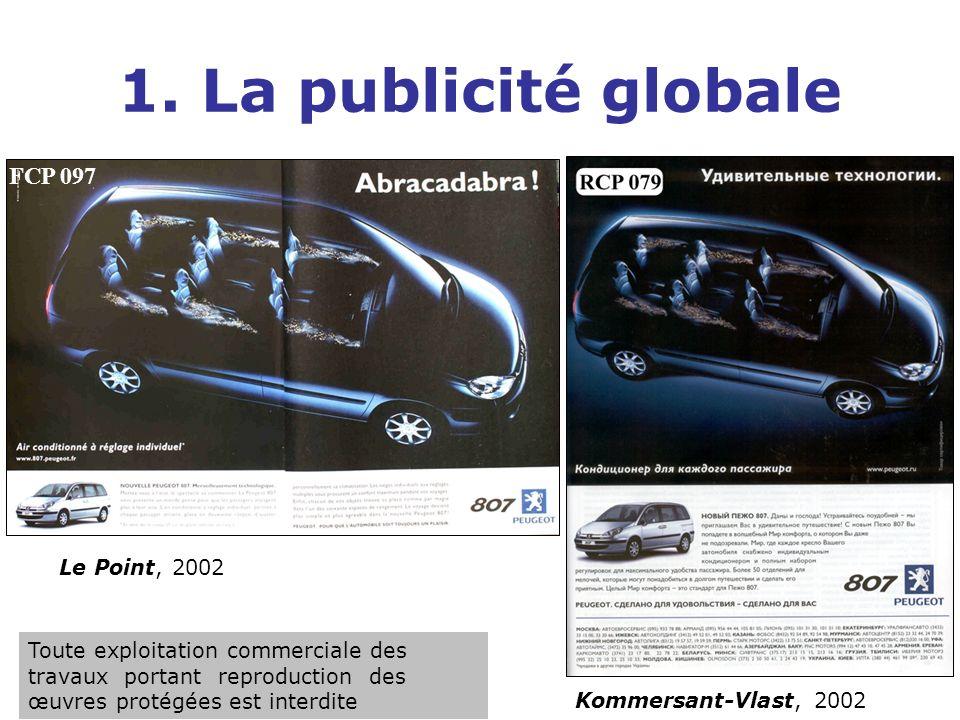 1. La publicité globale FCP 097 Le Point, 2002