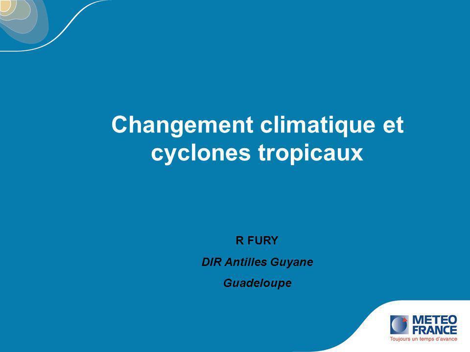Changement climatique et cyclones tropicaux