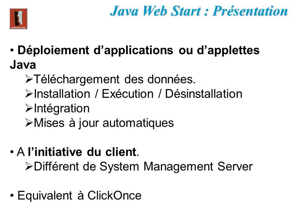 Java Web Start : Présentation